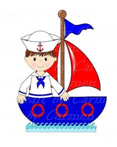 Boating clipart child. Sailor clip art boat