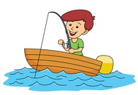 boating clipart child