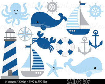 Boating clipart child. Anchor etsy