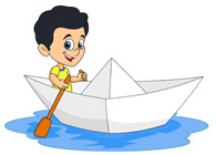 Boating clipart child. Free outdoors clip art