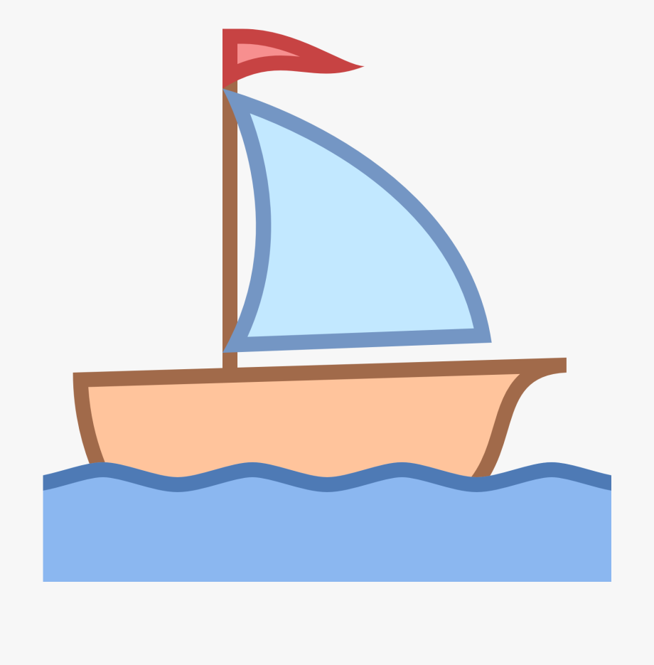 Boating clipart clip art. Sailing boat little