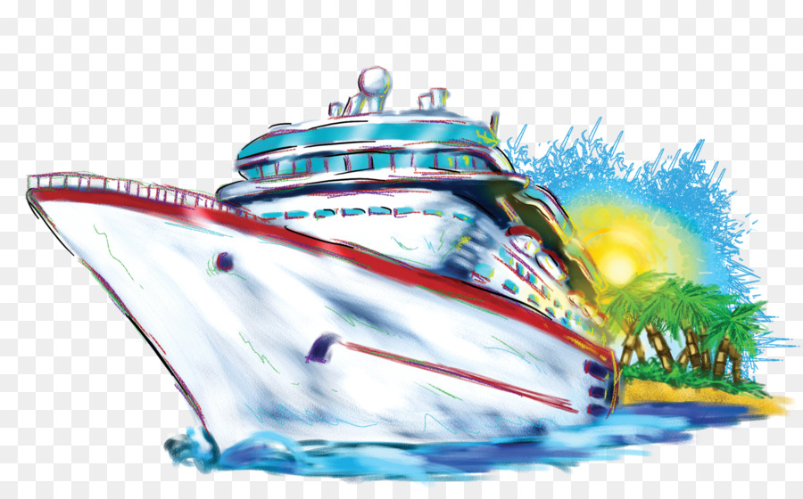 Boating clipart cruise. Ship carnival line clip