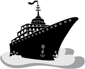 Boating clipart cruise. Free ship clip art