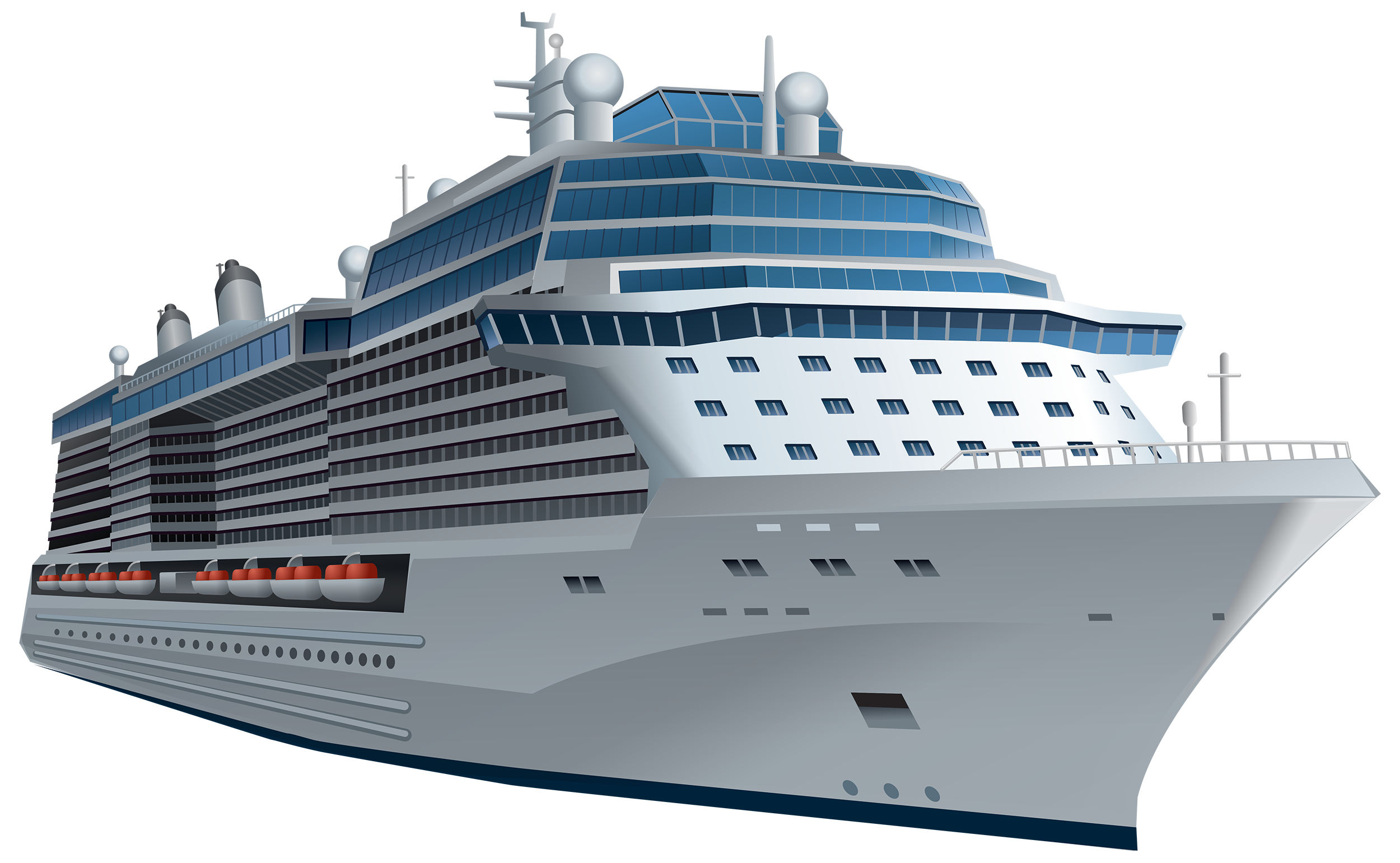 White ship png best. Boating clipart cruise