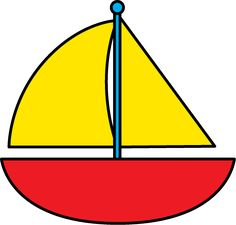 Boat cilpart nice design. Boating clipart cute