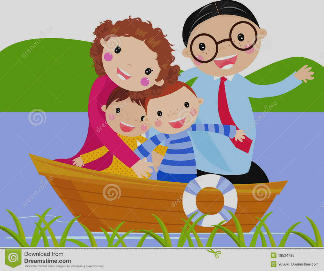 Boating clipart family boat. Trend clip art panda