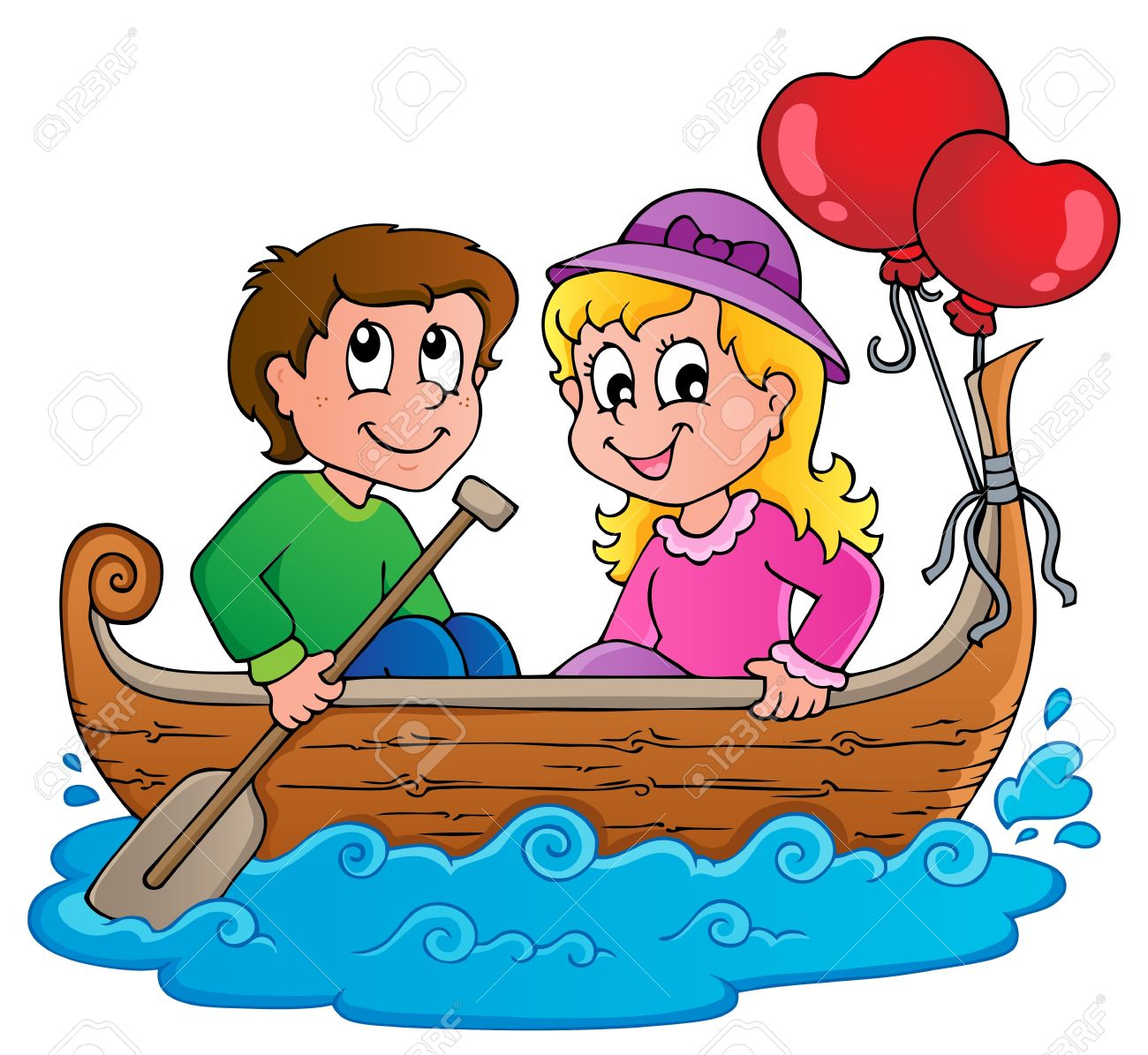 Free download best on. Boating clipart family boat