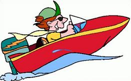 Boating clipart fast boat. Free speed
