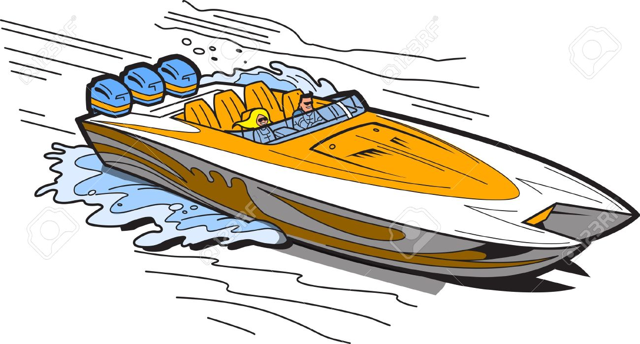 Speed boats free download. Boating clipart fast boat