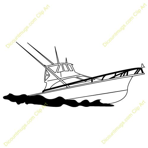 Panda free images yachtclipart. Boats clipart fishing boat