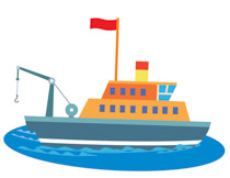 Boats clipart fishing boat. Free and ships clip