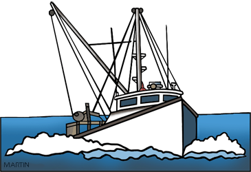 Free and ships clip. Boats clipart fishing boat