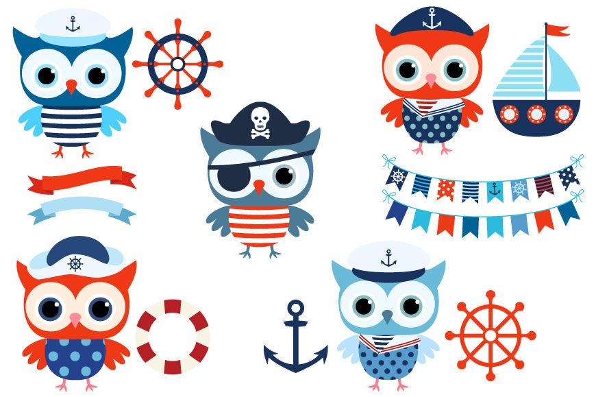 Boy nautical owl cute. Boating clipart group sailor