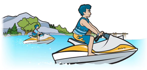 Boating clipart jet boat. Pennsylvania laws and regulations