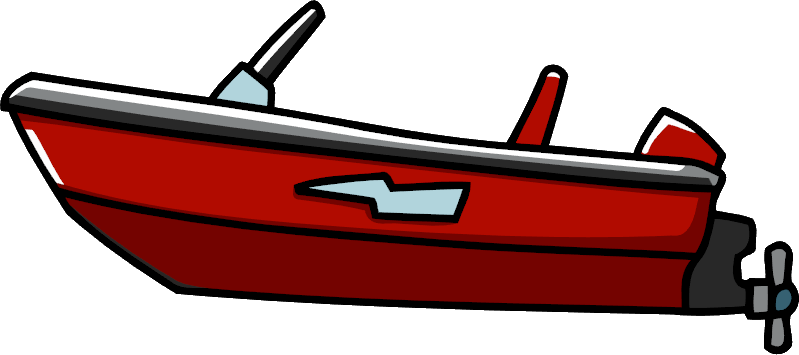 Image su png scribblenauts. Boating clipart jet boat