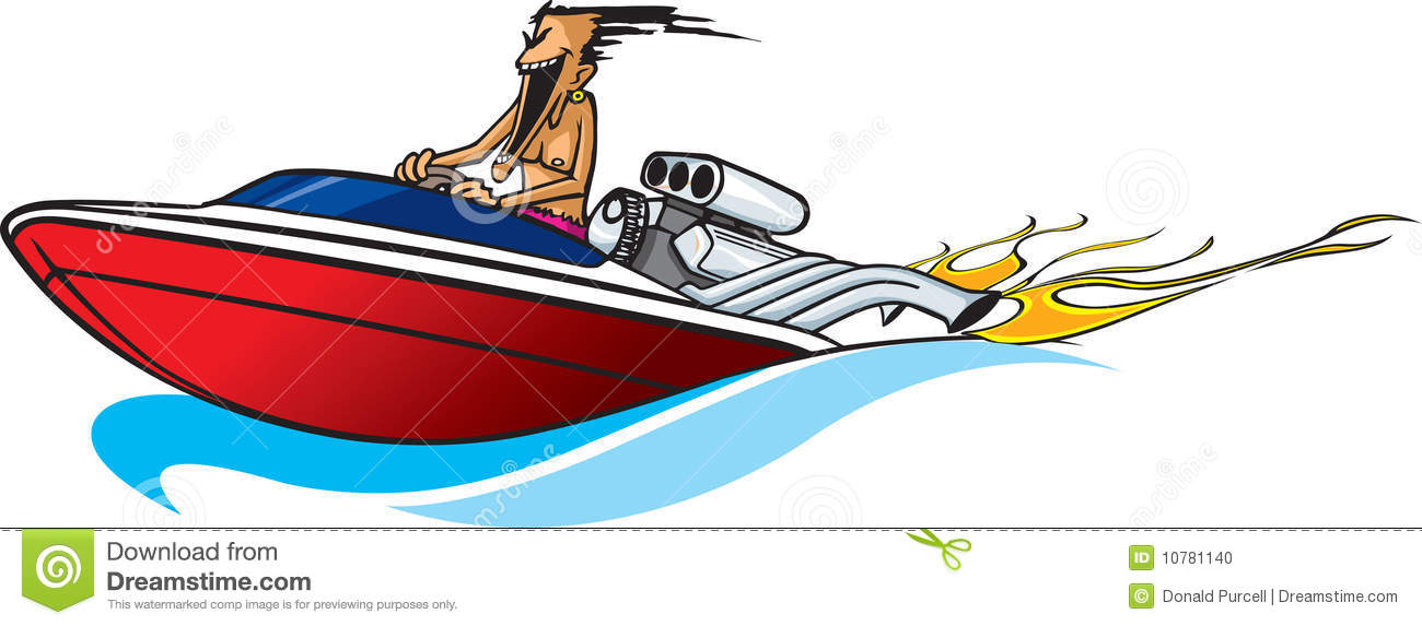 boating clipart jet boat