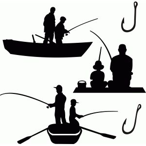 best cakes silhouette. Boating clipart kid design