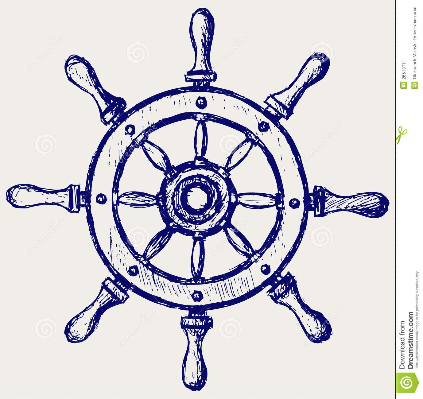 Boating clipart marina. Wheel marine wooden stock