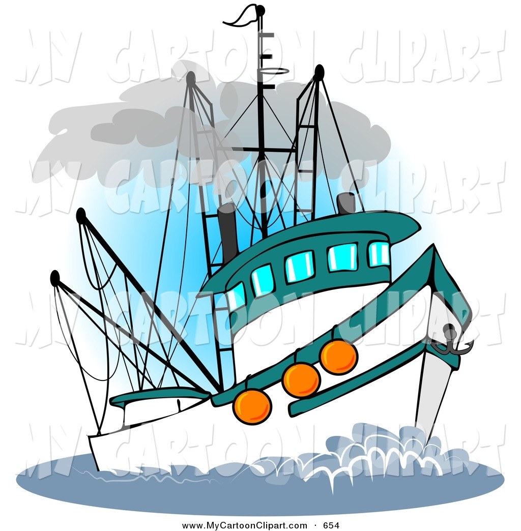Fishing silhouette clip art. Boating clipart party boat