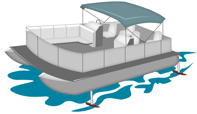 Boating clipart pontoon. Partyfoil boats go airborne