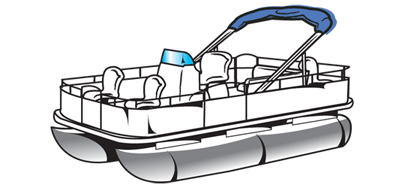 Yacht boat pencil and. Boating clipart pontoon