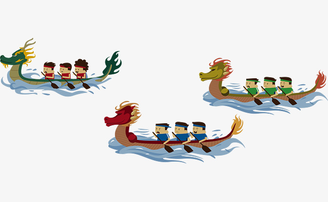 Dragon race game festival. Boating clipart racing boat