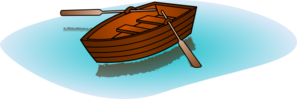 Boating clipart row. Boat with oars clip
