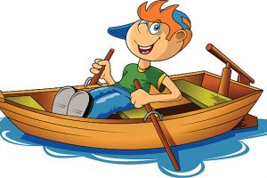 Rishi black and white. Boating clipart row