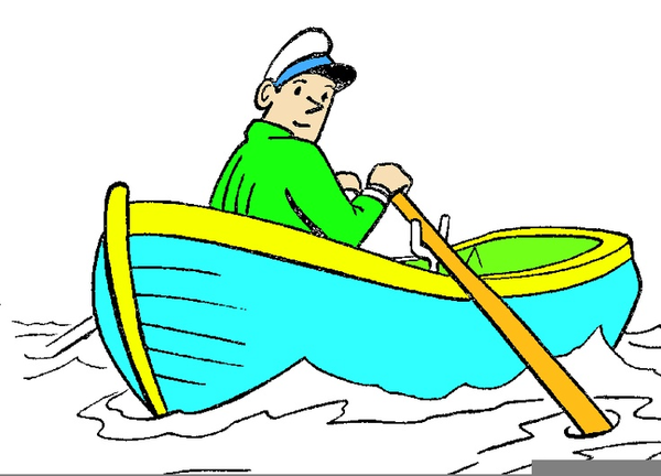 Boating clipart row your boat. Free images at clker