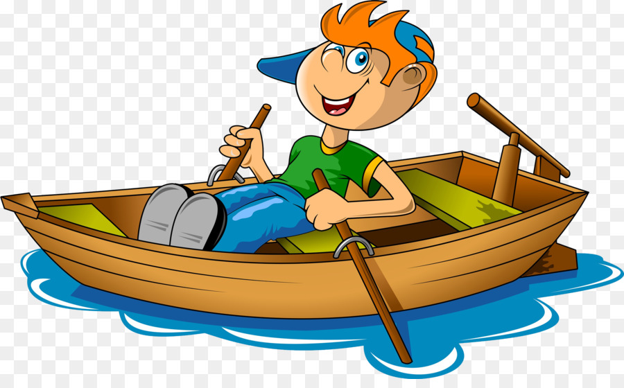 boating clipart rowing boat