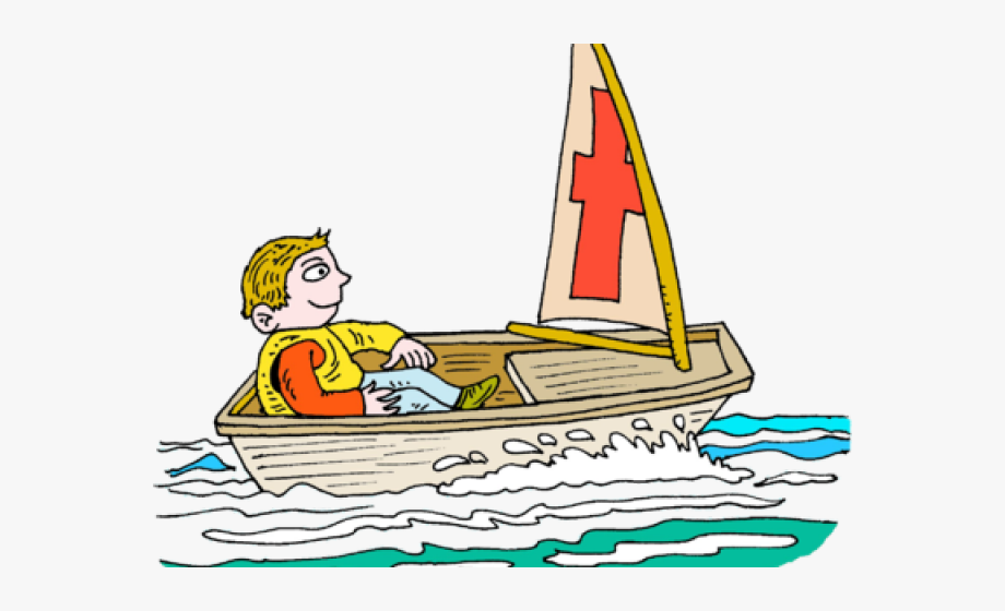 Boating clipart sailboat. Row boat toy sailing