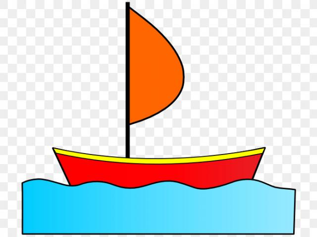 Fishing boat free on. Boating clipart sampan