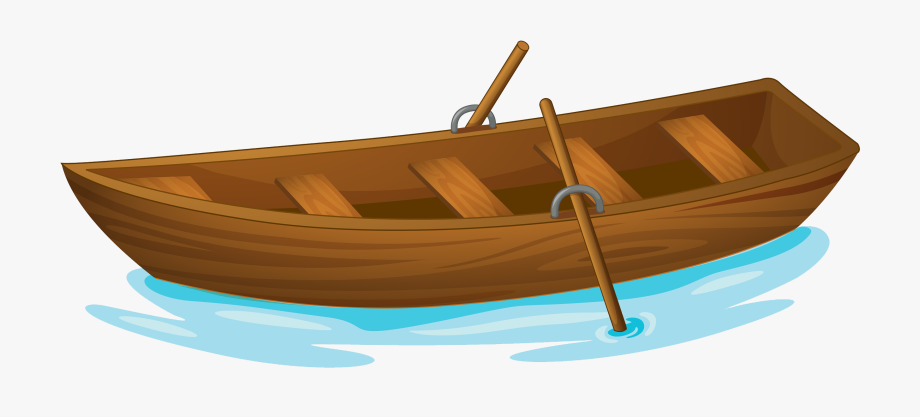 Boating clipart sampan. Water boat lightly row