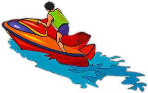 Free graphics images of. Boating clipart ski boat