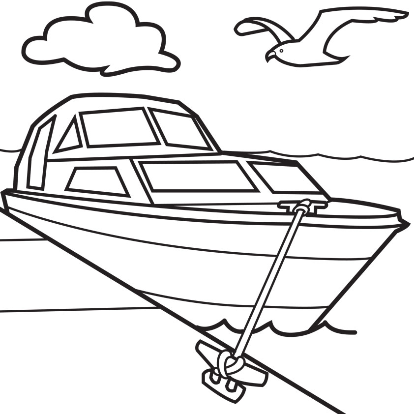 Boating clipart ski boat. Free cartoon boats download