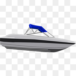 Speedboat png vectors psd. Boats clipart speed boat