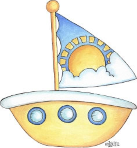 Boating clipart summer. Pin by paula bloom
