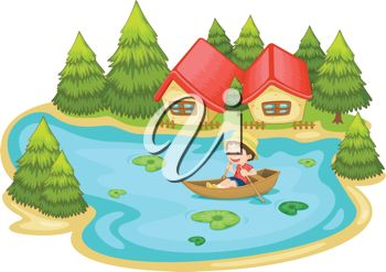 Boating clipart summer. Lake clip art images