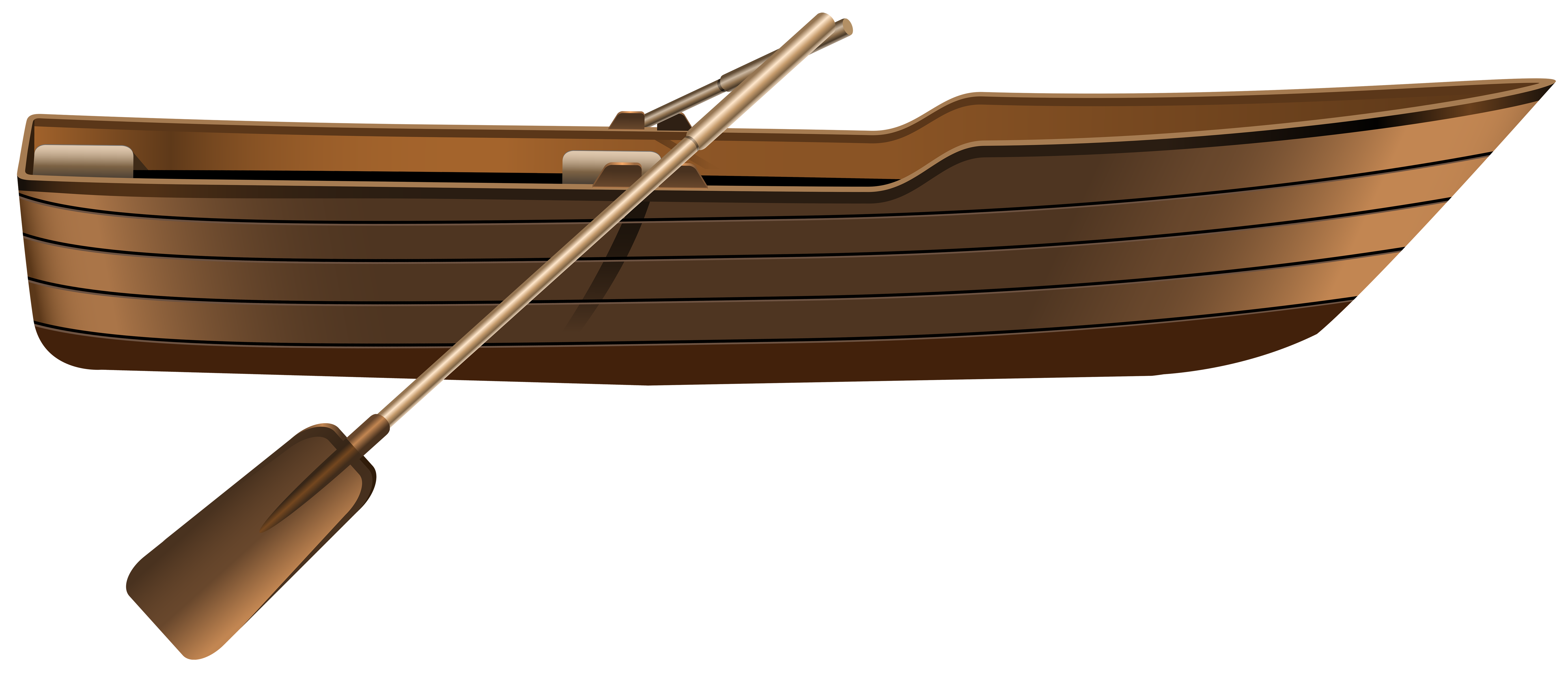 Wooden png clip art. Boat clipart rowing boat