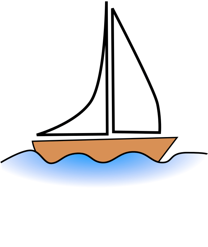 Boating clipart water activity. Taking the boat to