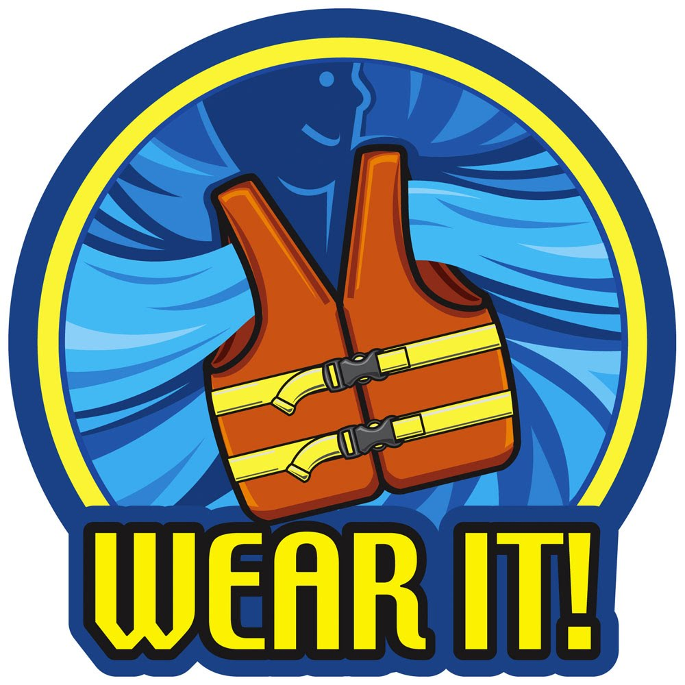 Boating clipart water safety. National safe week boat