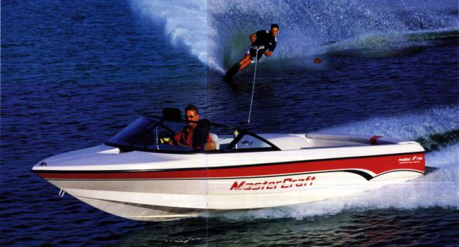 Boating clipart water skiing boat. Mastercraft skier prostar a