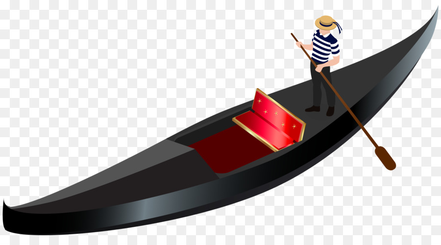 Venice boat gondola clip. Boating clipart watercraft