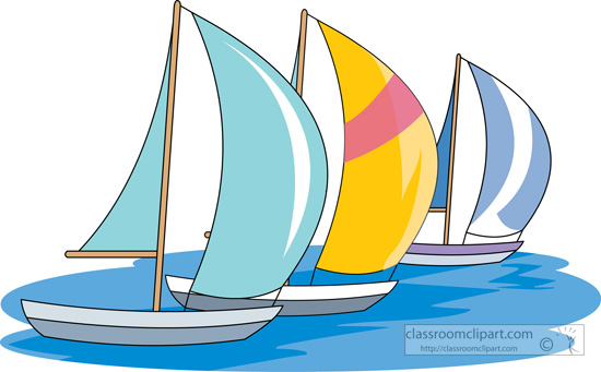 And ships sail boat. Boats clipart