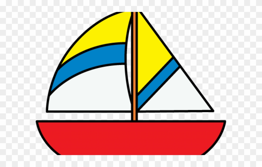 Colorful cartoon boats png. Boat clipart yacht