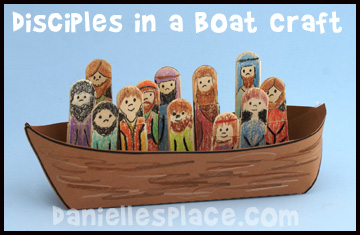 Boats clipart bible. Boat disciples pencil and