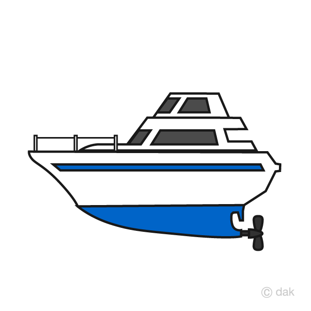 Simple cruiser boat free. Boats clipart boating