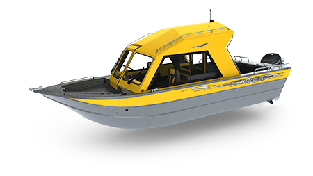 Welded aluminum fishing thunder. Boats clipart cabin cruiser