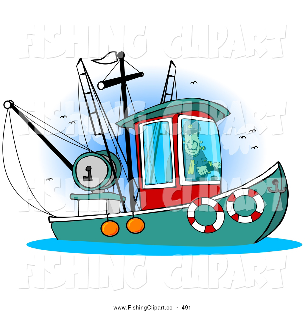 Clip art of a. Boats clipart charter boat
