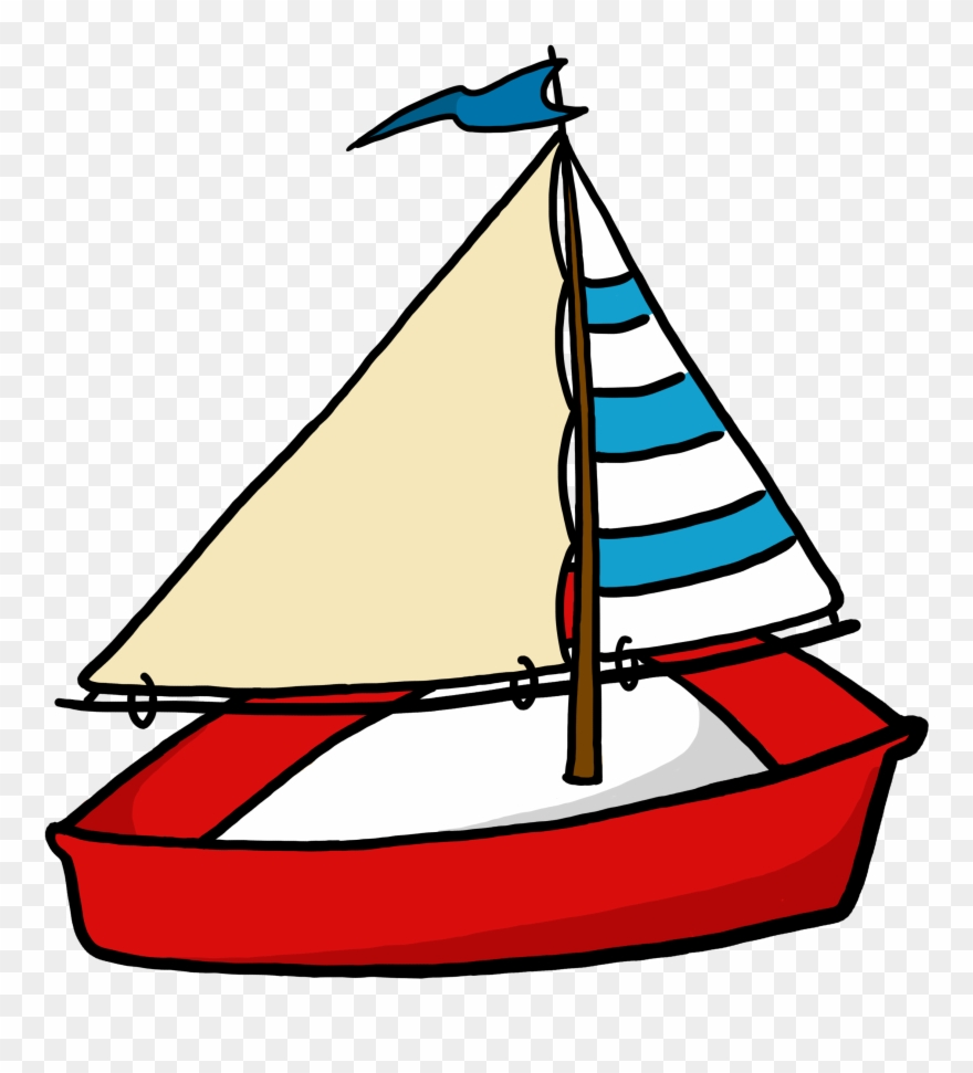 Boats clipart clear background. Toy sailboat boat transparent